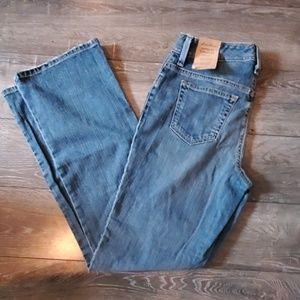 NWT Eddie Bauer Jeans 2R